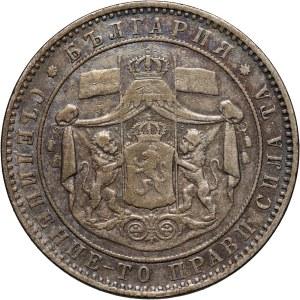 Bulgaria, Ferdinand I, 5 Leva 1884