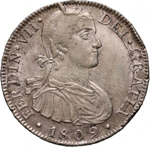 Mexico, Ferdinand VII, 8 Reales 1809 Mo-TH, Mexico City