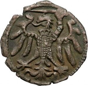 Zygmunt I Stary, denar bez daty, Elbląg
