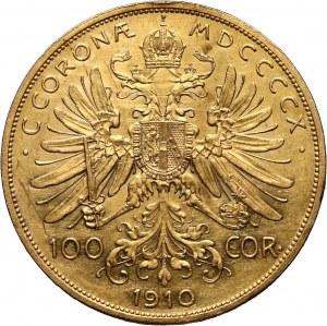 Austria, Franciszek Józef I, 100 koron 1910, Wiedeń