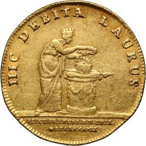 Austria, Franciszek II, 2 dukaty 1792, Koronacja, Frankfurt