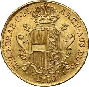 Austria, Maria Theresa, 2 Souverain d'or 1780 IC-FA, Vienna