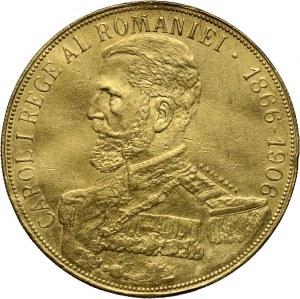 Rumunia, Karol I, 50 lei 1906, Bukareszt