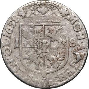 Jan II Kazimierz, ort 1658 TLB, Kraków, bez obwódek