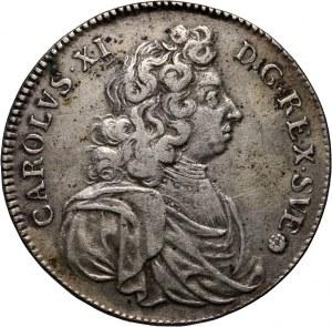 Szwecja, Karol XI, 4 marki 1688, Sztokholm