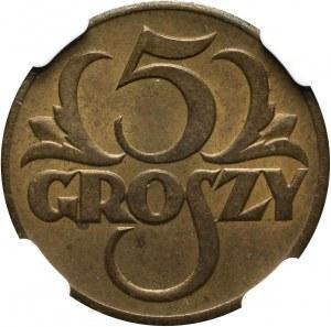 II RP, 5 groszy 1923