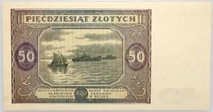 PRL, 50 złotych 13.05.1946, seria N