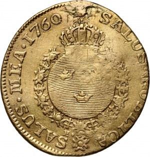 Szwecja, Adolf Fryderyk, dukat 1760 HM, Sztokholm