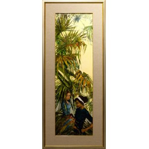 Martta Węg, Popołudnie pod palmami, 2020