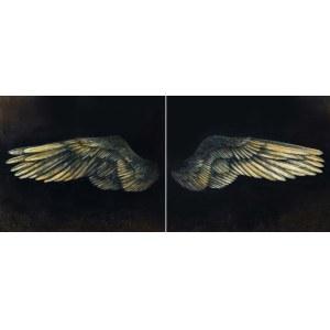 Klaudia Choma, Nauka latania (dyptyk), 2021