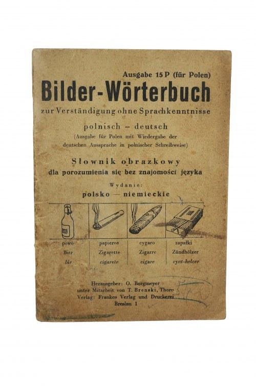 Słownik obrazkowy polsko - niemiecki dla porozumienia się bez znajomości języka