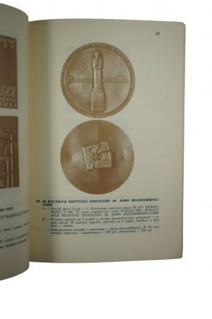 [MENNICA PAŃSTWOWA] Katalog medali wybitych przez Mennicę Państwową w Warszawie w roku 1973