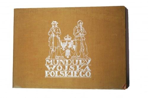 DZIEWANOWSKI Władysław - Mundury wojska polskiego 1700 - 1937, tablic kol. 16