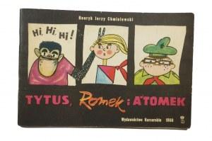 CHMIELEWSKI Henryk Jerzy - Tytus, Romek i A'Tomek księga I, wydanie I UNIKAT!