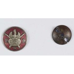 Przysposobienie Wojskowe Pocztowców tombak srebrzony