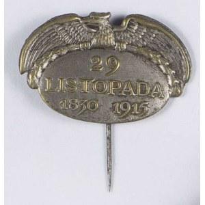 Odznaka pamiątkowa NKN 29 Listopada 1830-1915