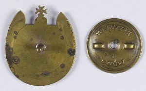 Odznaka Ułani Lwowscy Ochotnicy