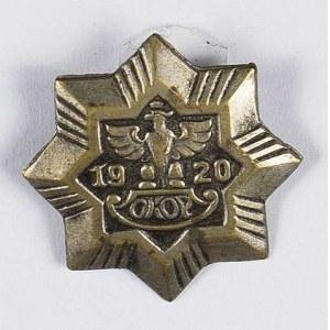Odznaka Obywatelski Komitet Obrony Państwa 1920 OKOP