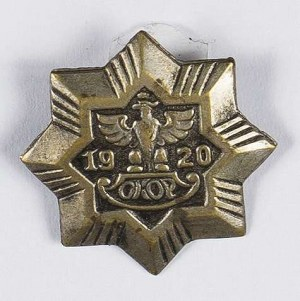 Odznaka Obywatelski Komitet Obrony Państwa 1920