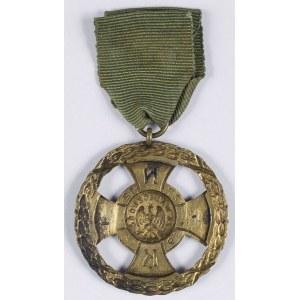 Odznaka Naczelnej Komendy Straży Ludowej Pamiątkowy Krzyż Za Waleczność NKSL 1920