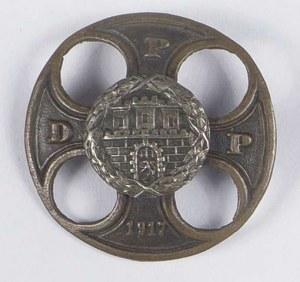 Odznaka pamiątkowa D.P.P/P.D.P 1917