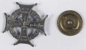 Odznaka pamiątkowa w formie krzyża