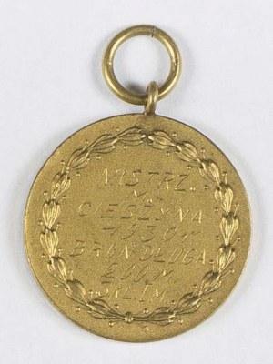 Medalik nagrodowy
