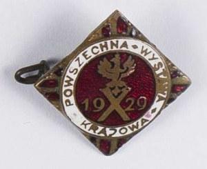 Odznaka pamiątkowa X Powszechna Wystawa Krajowa 1929