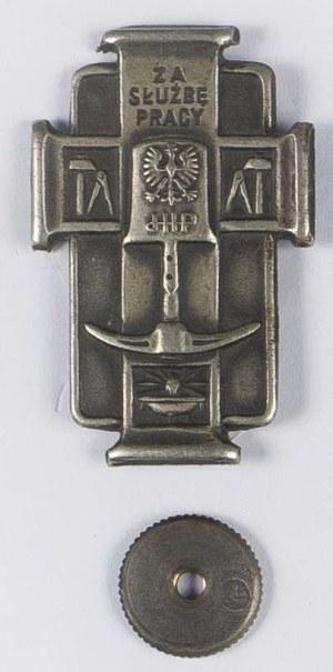Odznaka Za Służbę Pracy Junackie Hufce Pracy