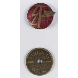 Odznaka ZZT - Związek Zawodowy Transportowców(?)