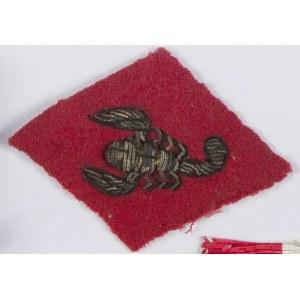 Oznaka specjalna na beret 4 Pułk Pancerny Skorpion