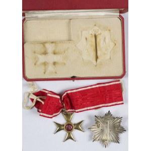 Krzyż Komandorski z Gwiazdą Orderu Odrodzenia Polski