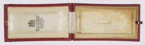 Pudełko do Krzyża Zasługi z Mieczami