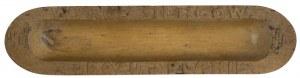 Przybornik na materiały do pisania z drewna bukowego