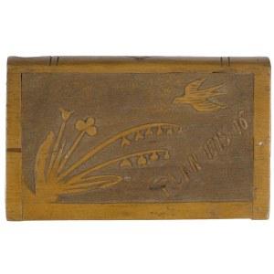 Kasetka z drewna bukowego