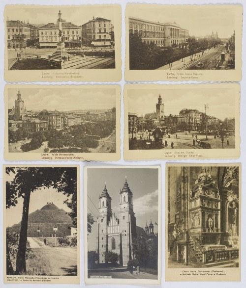 Lwów. Kraków. Warszawa. Poznań. Wiedeń. Neapol