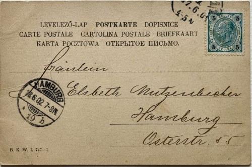 Pocztówka Wyjazd Franciszka Józefa