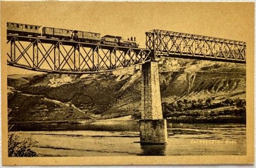 Pocztówka - Zaleszczyki most