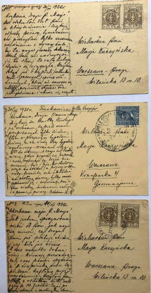Zestaw 6pocztówek z Truskawca