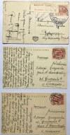 Zestaw 5 pocztówek - 3 z Krynicy i 2 z Iwonicza