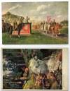 Zestaw 4 kolorowych pocztówek