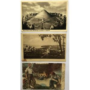 Zestaw 6 różnych pocztówek