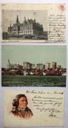Zestaw 6 pocztówek z USA