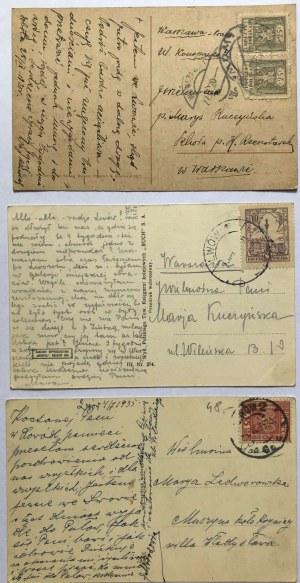 Zestaw 5 pocztówek ze Lwowa