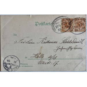 Pocztówka propagandowa z roku 1899