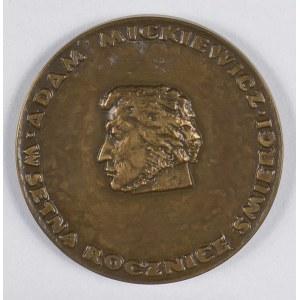 ADAM MICKIEWICZ - w setną rocznicę śmierci - 1956 Brąz