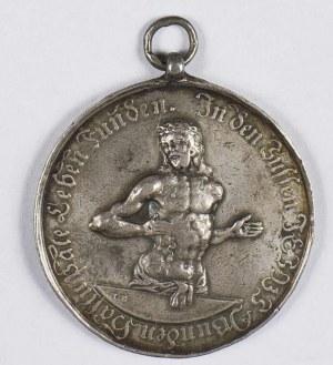 Niemcy. Medal wydany z okazji chrztu
