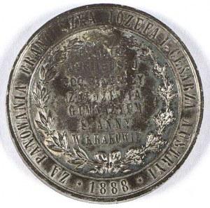 JUBILEUSZ 300 ROCZNICY ZAŁOŻENIA GIMNAZJUM ŚW. ANNY w KRAKOWIE - 1888