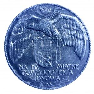 OSWOBODZENIE LWOWA SPOD OKUPACJI ROSYJSKIEJ - 1915