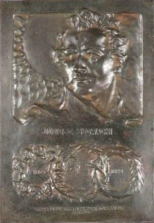 PLAKIETA ku czci Juliusza Słowackiego w 100-lecie urodzin - 1909